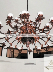 Lampu Robyong tembaga 2