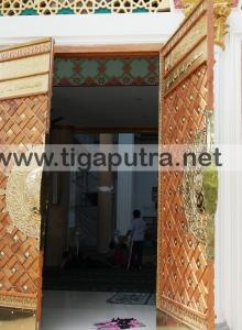 pintu masjid model nabawi