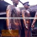 proses pembuatan patung tembaga