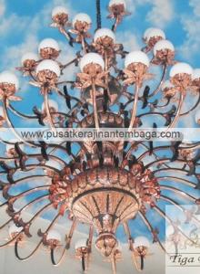 Lampu gantung masjid 6