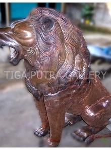 patung tembaga singa 1