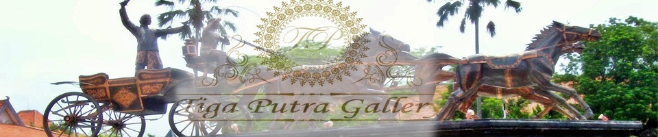 header post patung tembaga