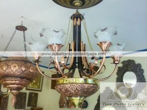 lampu gantung tembaga kuningan