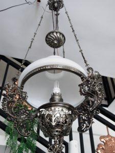 Lampu gantung kerek asli dari tembaga dan kuningan