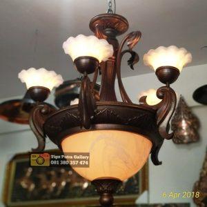 lampu teras tembaga
