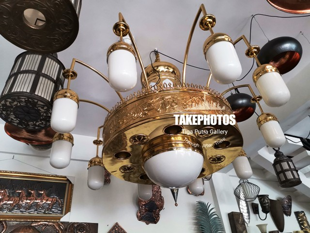 lampu MAsjid Model Nabawi